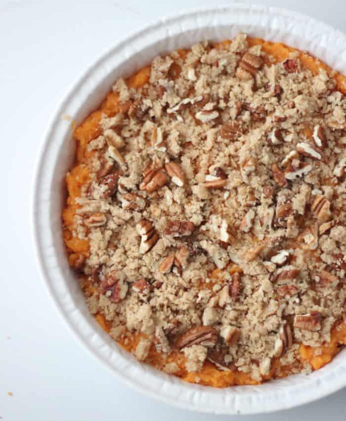 Sweet Potato Casserole from Living Well Kitchen