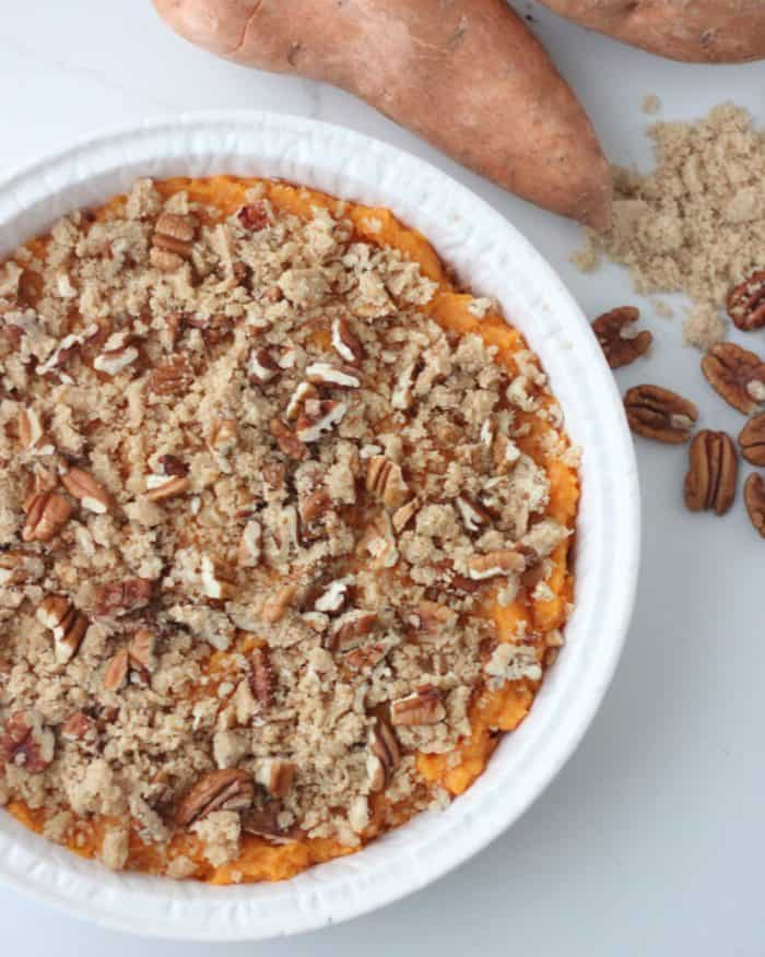 Sweet Potato Casserole from Living Well Kitchen