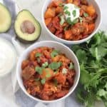 Butternut Squash Chili from Living Well Kitchen