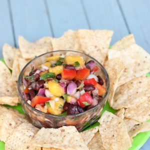 Mango Black Bean Salsa from Living Well Kitchen