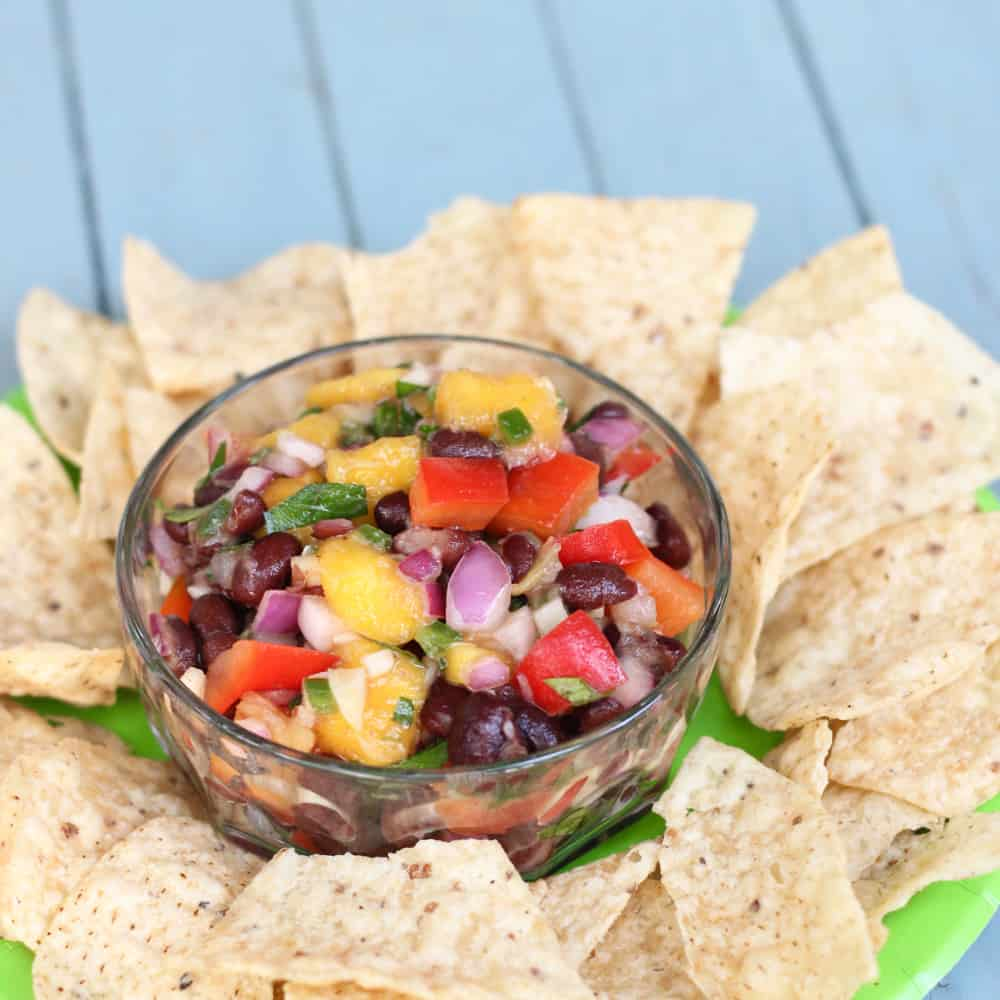 salsa that makes everything taste tropical