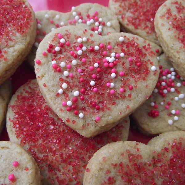 Whole Wheat Sugar Cookies from Living Well Kitchen