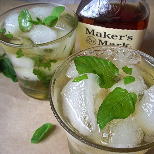 My dad's amazing mint julep recipe is perfect for celebrating the Kentucky Derby or just a great way to enjoy some good whiskey