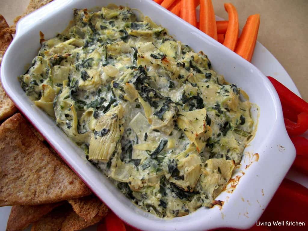 Spinach Artichoke Dip from Living Well Kitchen1