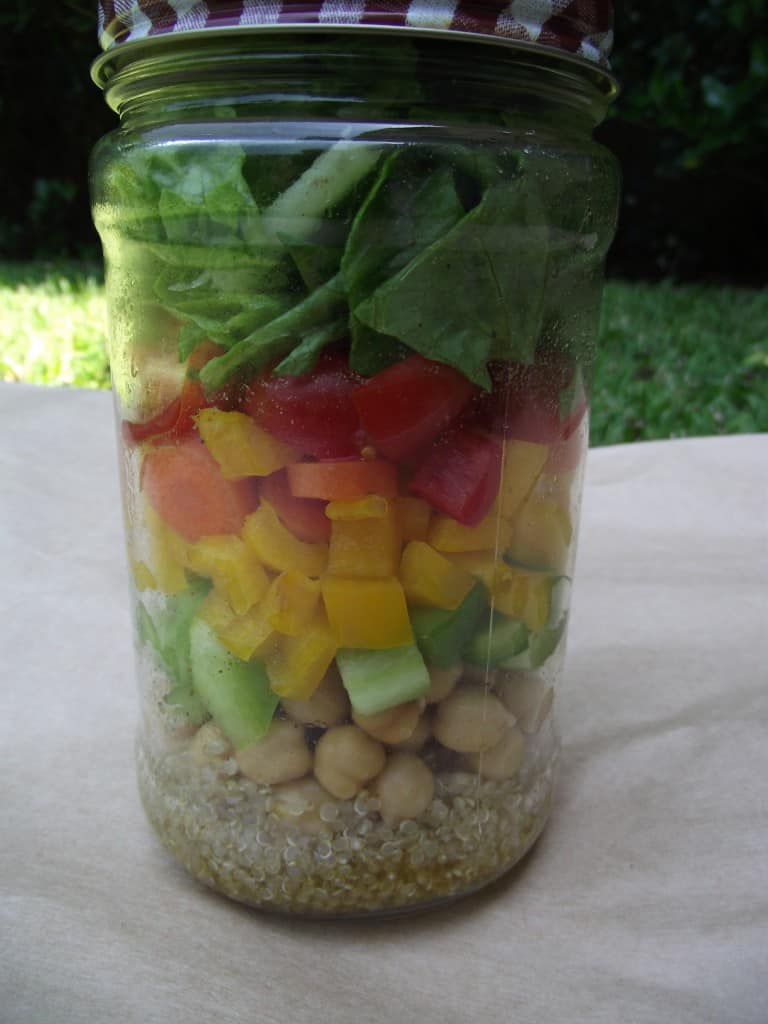 Quinoa Salad Shakers