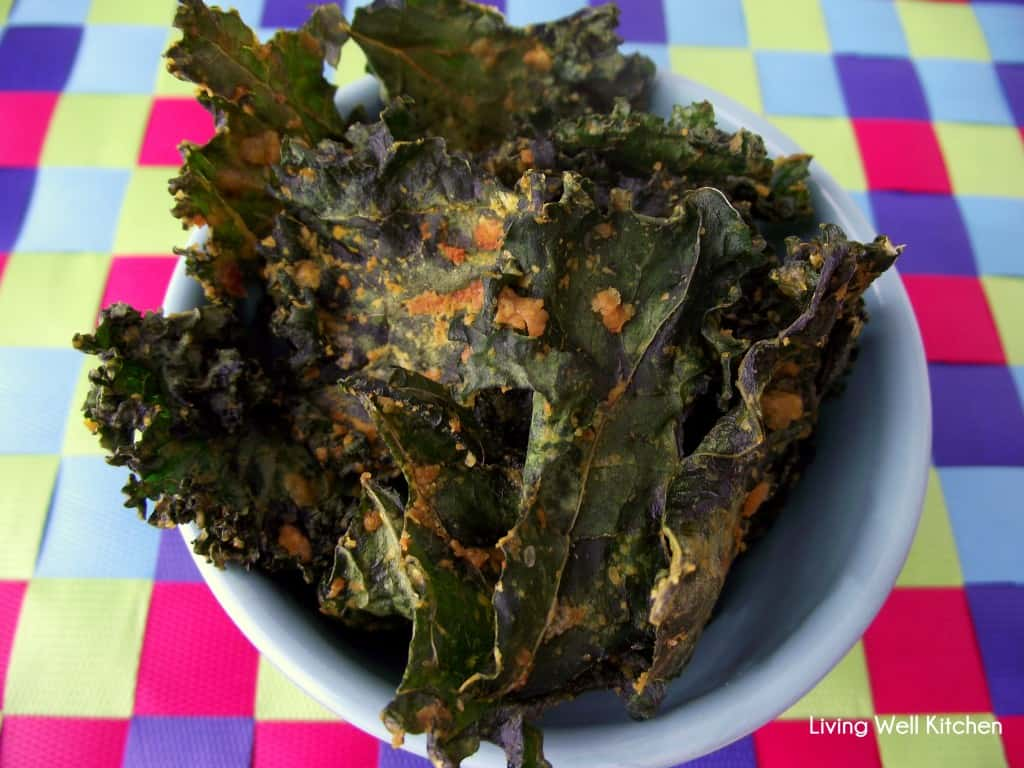 Kale Chips from Living Well Kitchen