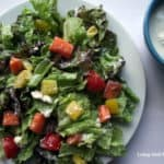 healthier blue cheese dressing