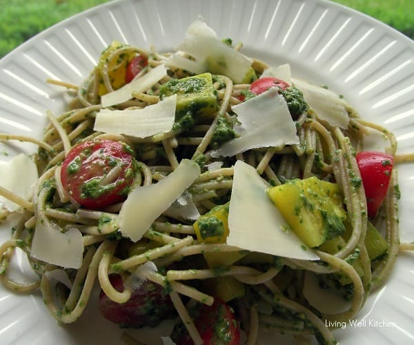 Pesto Pasta from Living Well Kitchen