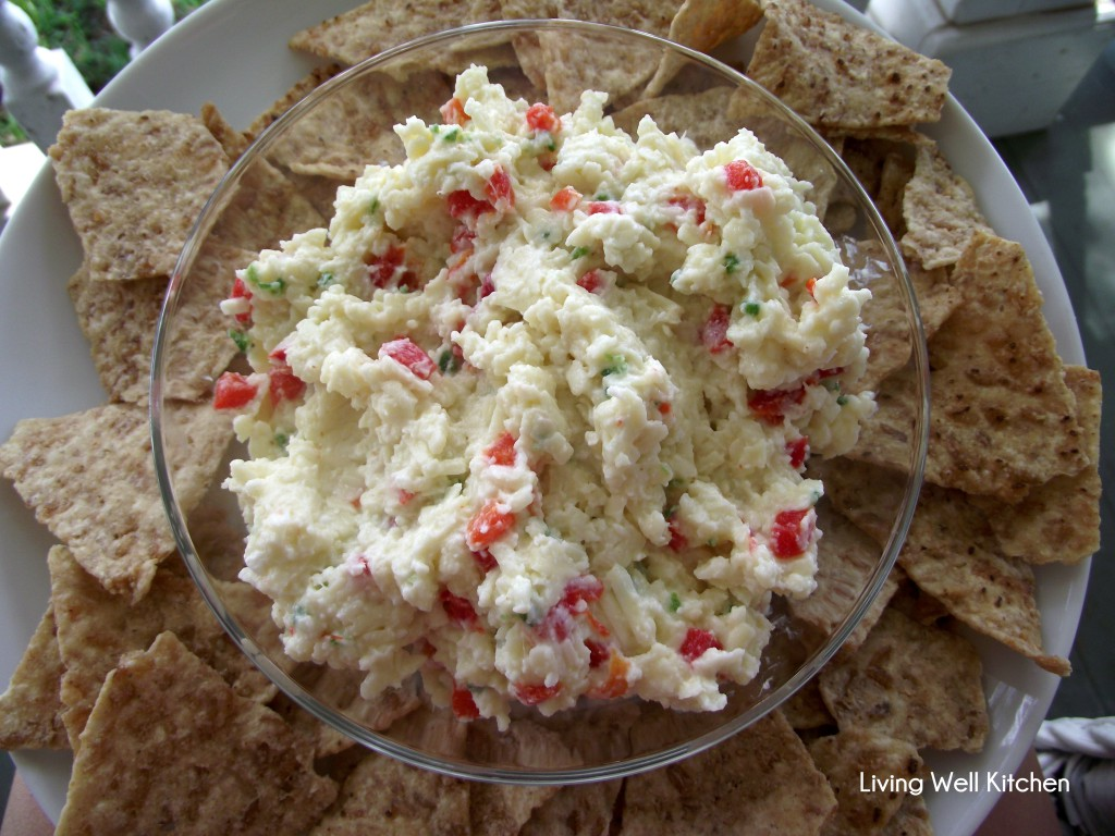 White Cheddar Jalapeño Pimento Cheese from Living Well Kitchen