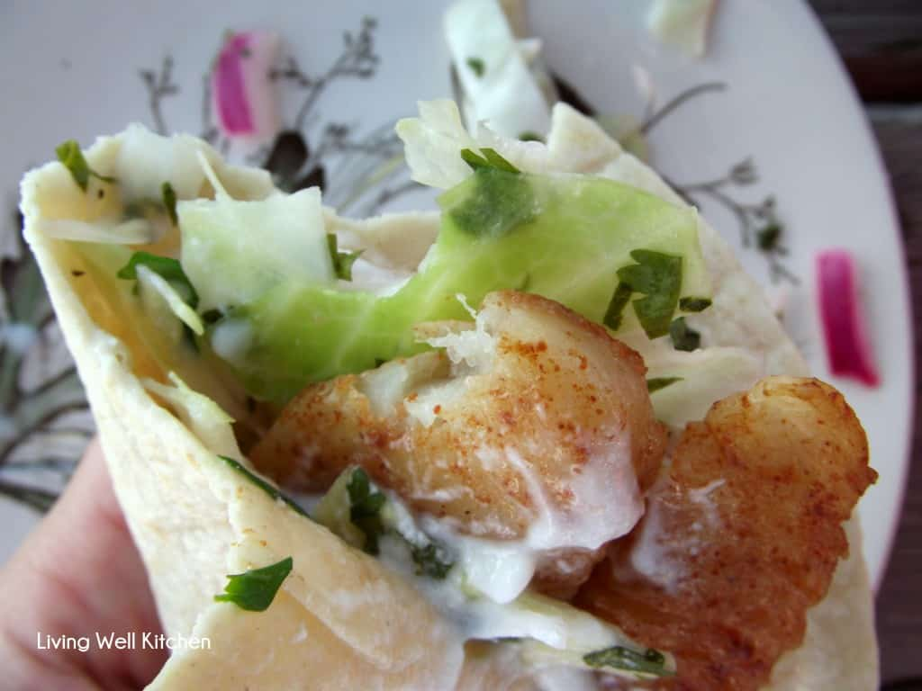 Fish tacos living well kitchen for Taco bell fish tacos