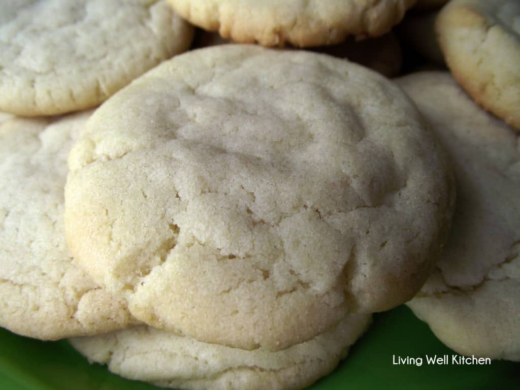 Lunch Lady Sugar Cookies from Living Well Kitchen