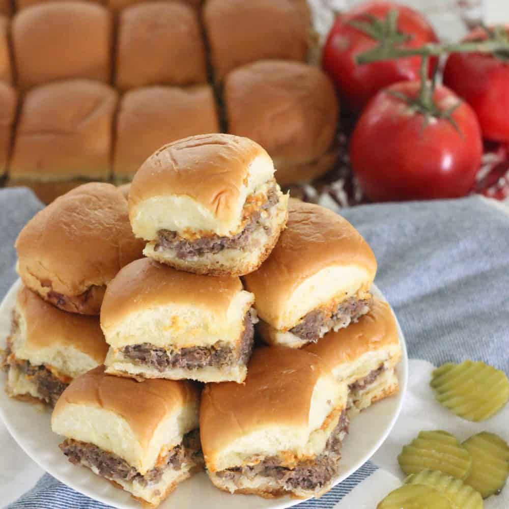 Sliders from Living Well Kitchen