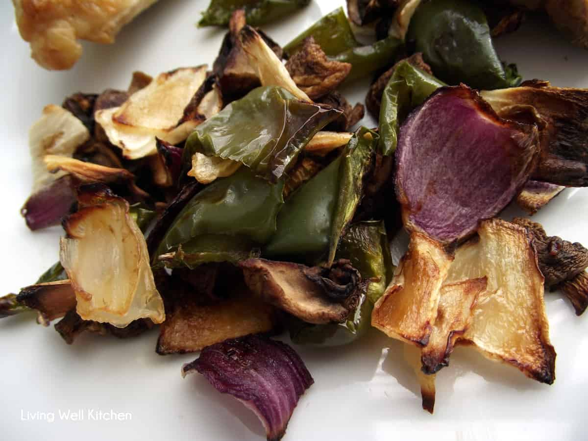 Roasted Veggies from Living Well Kitchen
