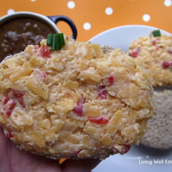 Smoky Pimento Cheese Sandwiches from Living Well Kitchen