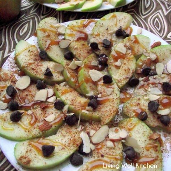 Apple Nachos from Living Well Kitchen