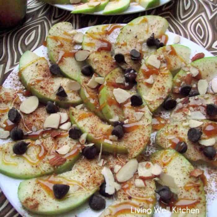 Apple Nachos from Living Well Kitchen