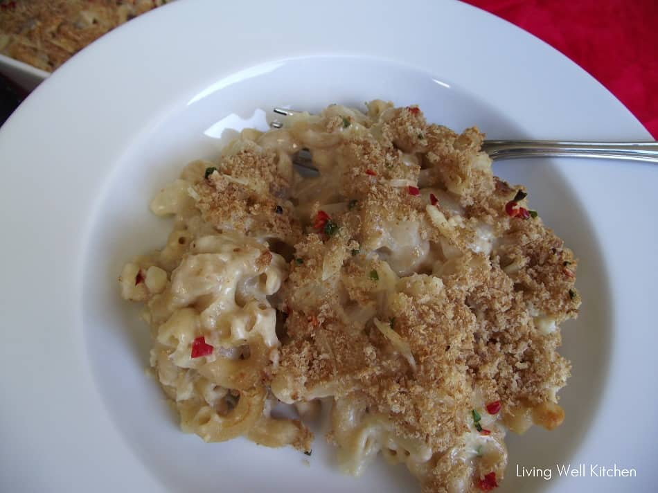Macaroni and Cheese from Living Well Kitchen