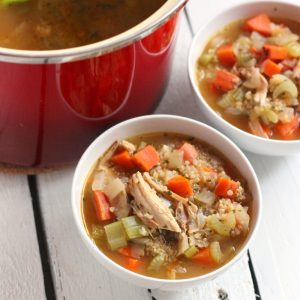 Turkey and Quinoa Soup from Living Well Kitchen