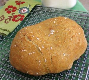 homemade whole wheat bread