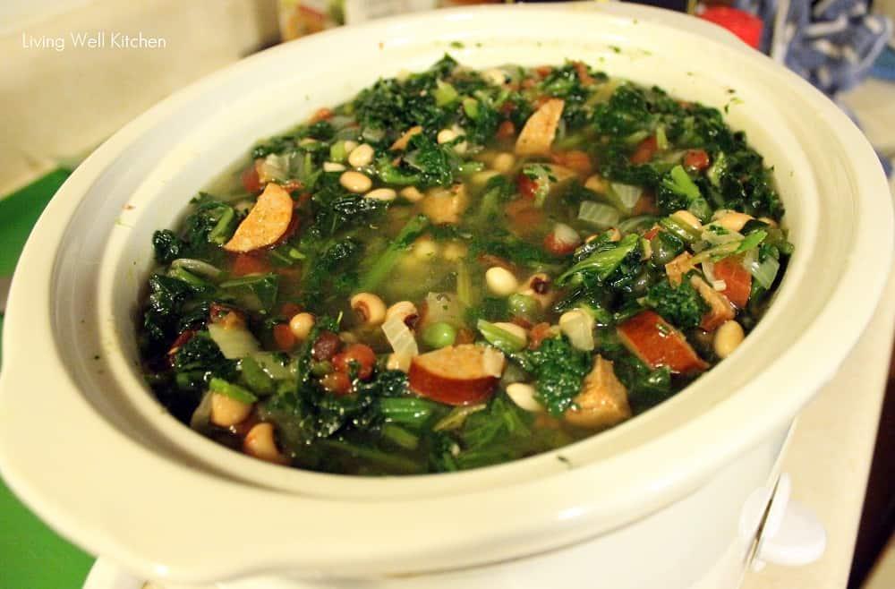 Good Luck Greens Soup