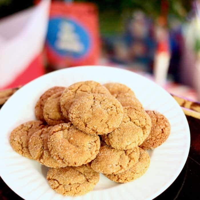 chewy Gingersnaps cookies