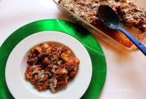 Baked Italian Cauliflower from Living Well Kitchen