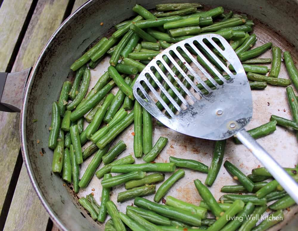 Easy Sautéed Green Beans from Living Well Kitchen