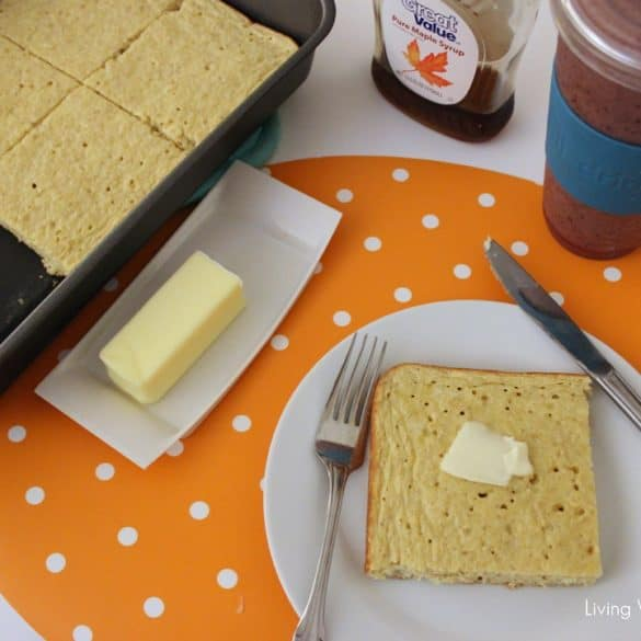 Oven Baked Protein Pancakes from Living Well Kitchen