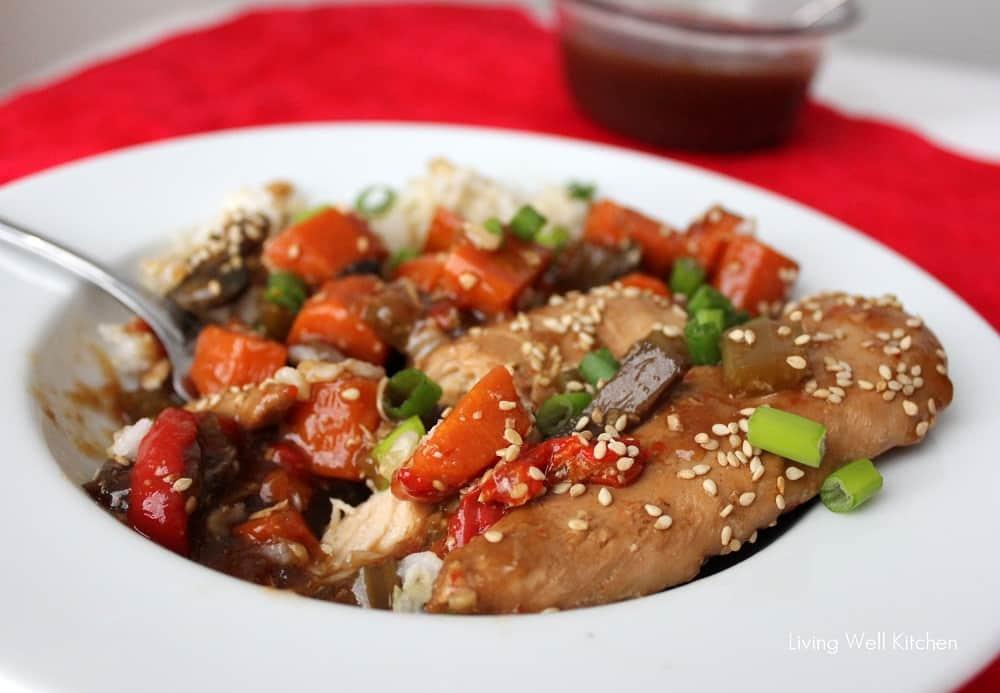 sesame honey chicken