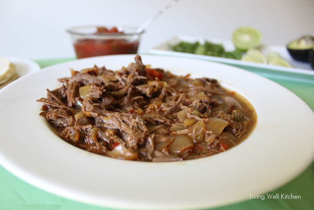 Beef Carnitas Tacos from Living Well Kitchen blog @memeinge