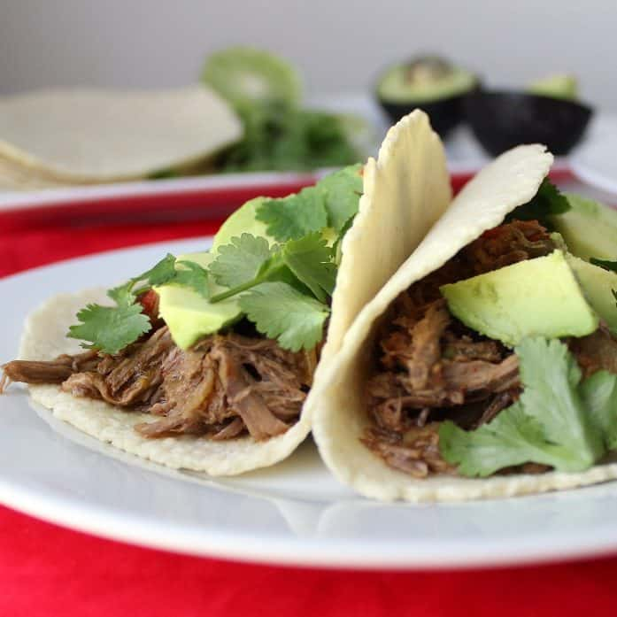 Beef Carnitas Tacos from Living Well Kitchen