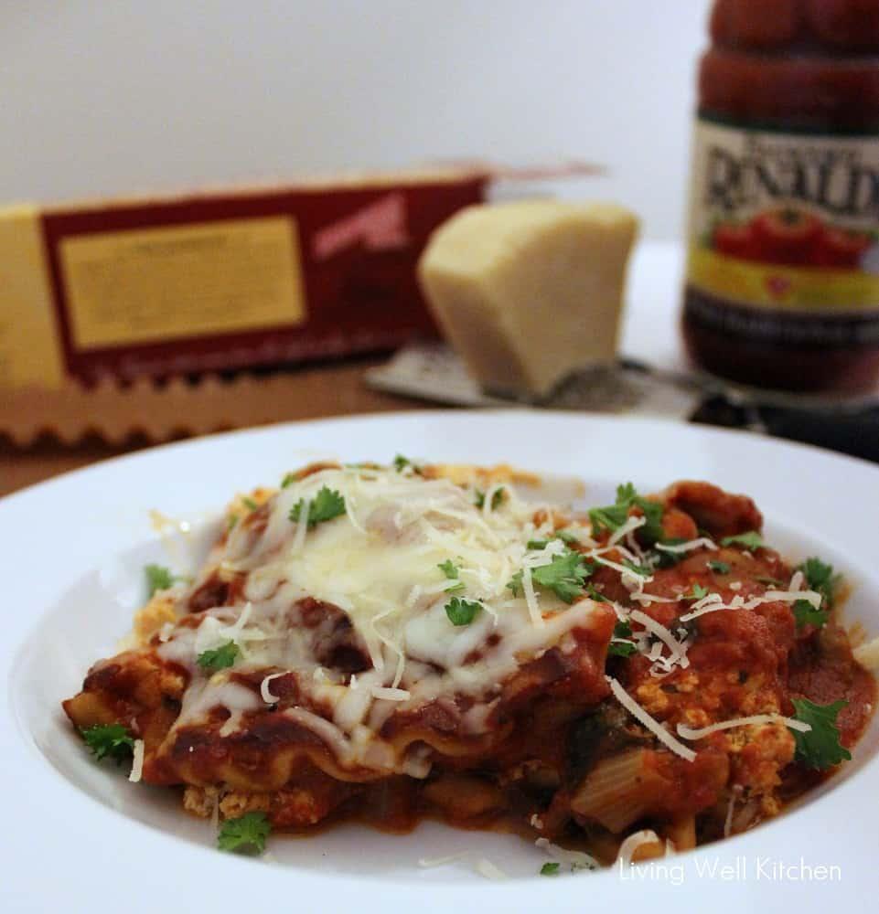 Crock-Pot Vegetarian Lasagna from Living Well Kitchen