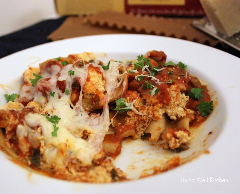 Crock-Pot Vegetarian Lasagna