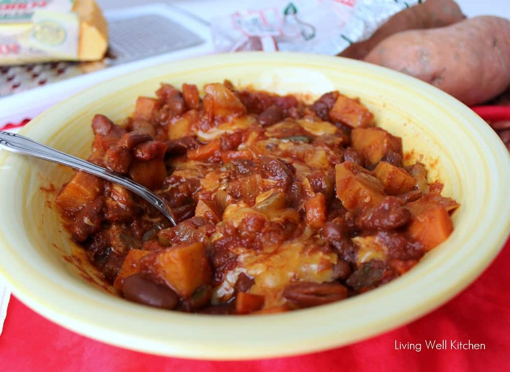 Sweet Potato Chili from Living Well Kitchen