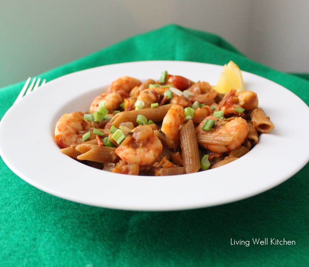 Lemon Shrimp Pasta from Living Well Kitchen