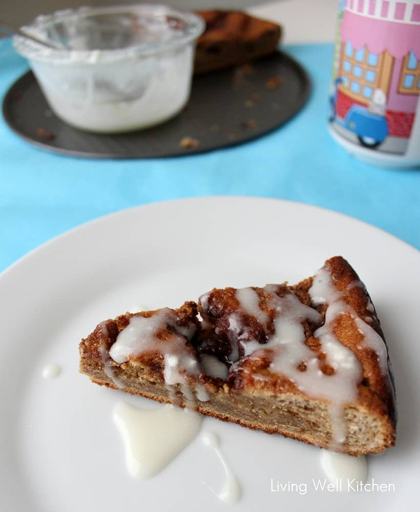 Cinnamon Roll Coffee Cake from Living Well Kitchen4