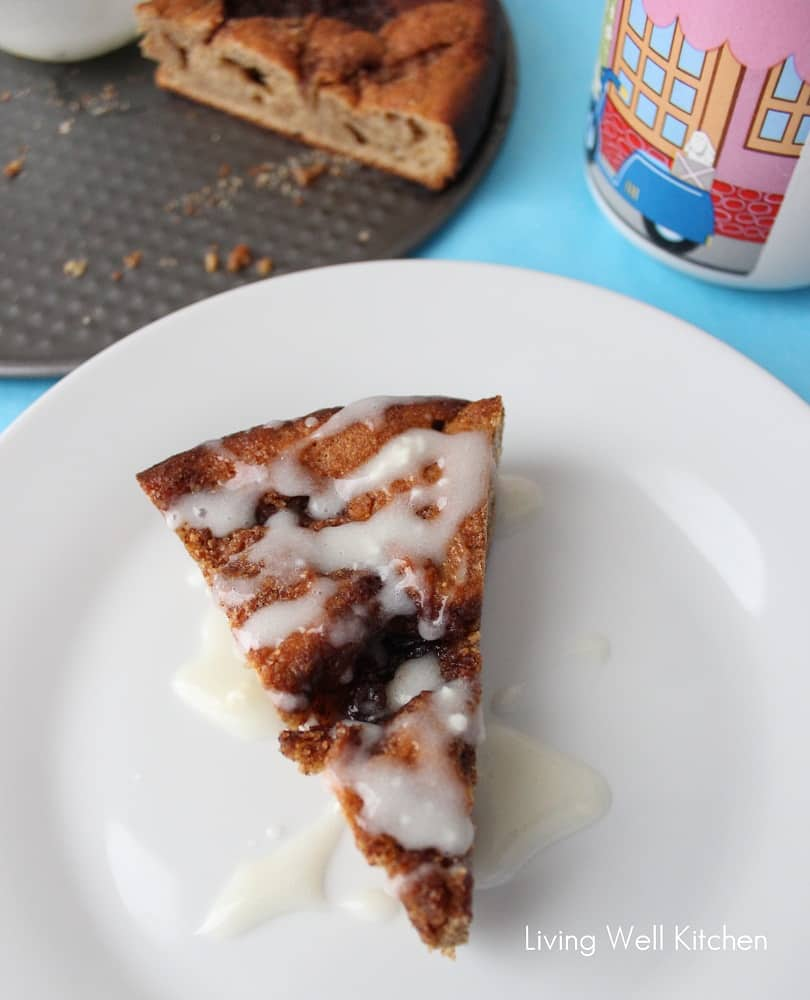 Cinnamon Roll Coffee Cake from Living Well Kitchen5