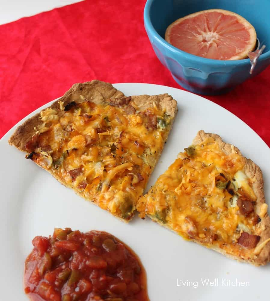 Breakfast Pizza from Living Well Kitchen