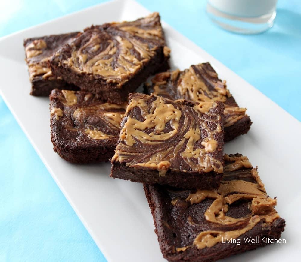 Peanut Butter Swirl Fudge from Living Well Kitchen2