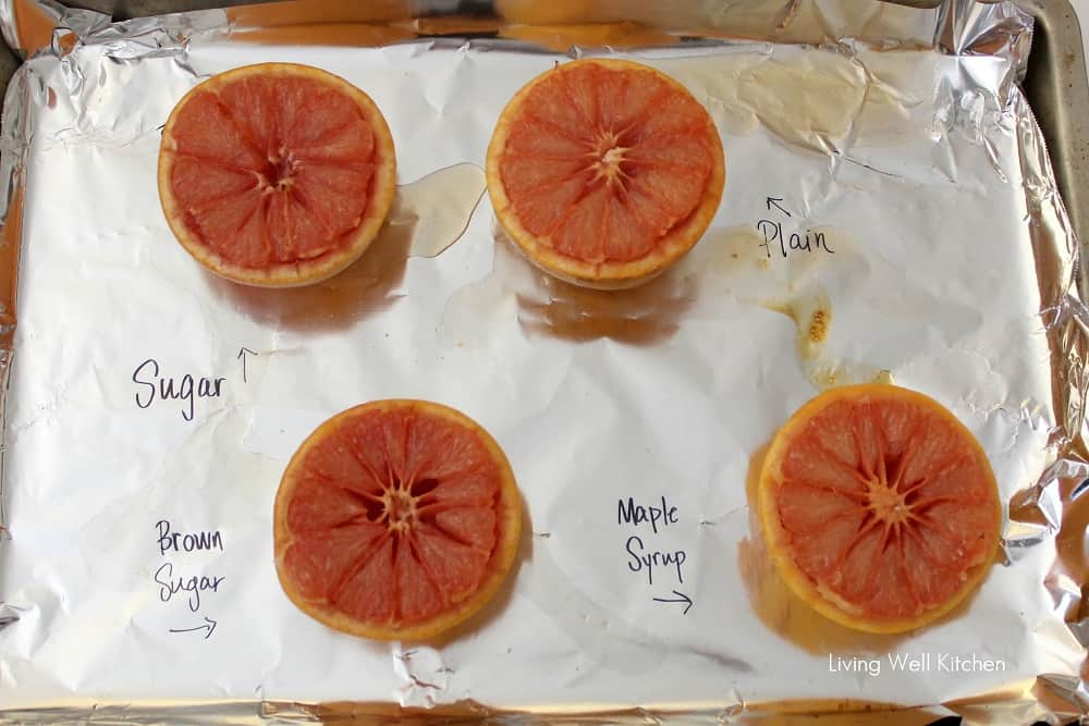 Which Broiled Grapefruit was the tastiest? from Living Well Kitchen