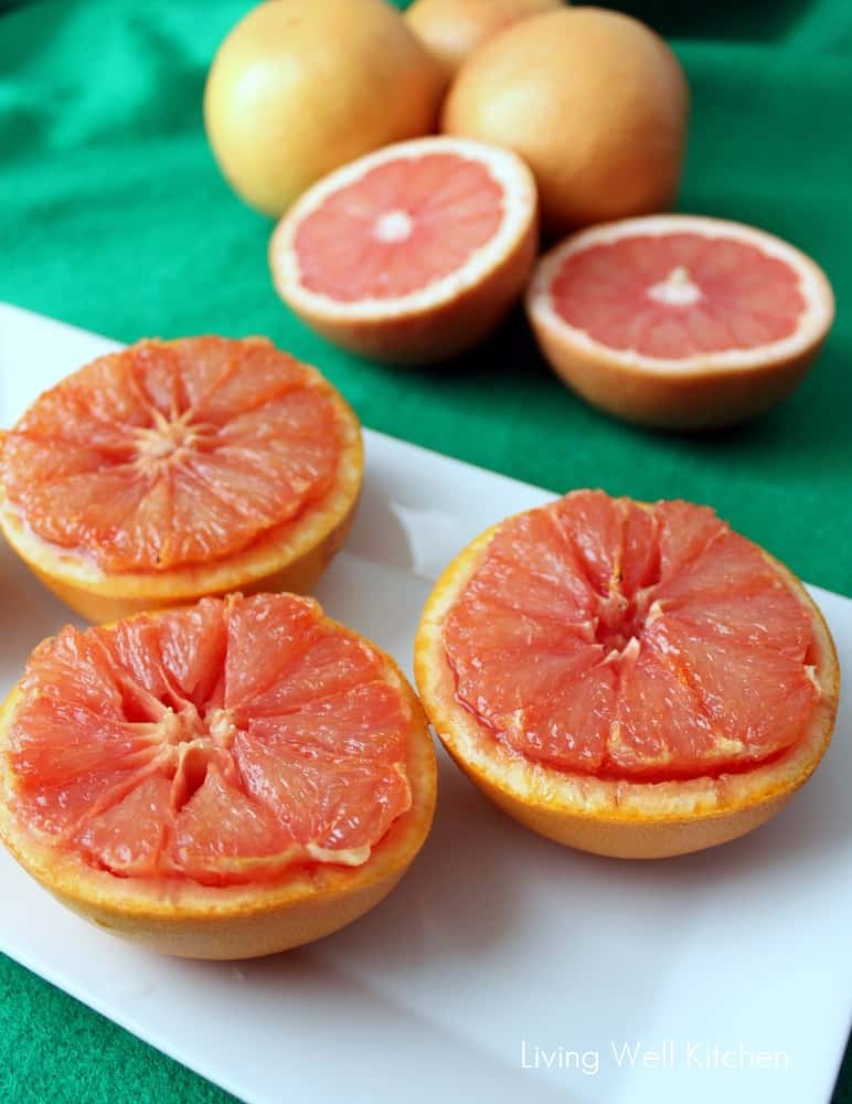 Broiled Grapefruit from Living Well Kitchen