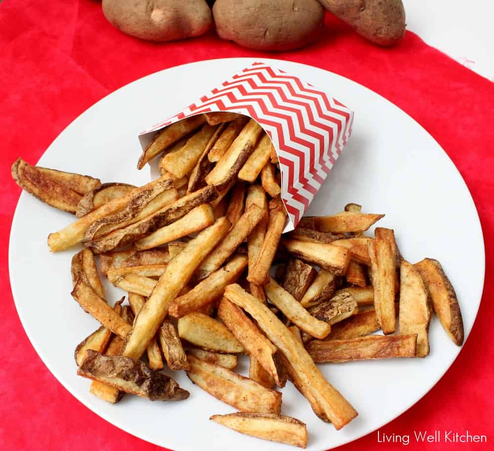 baked fries from Living Well Kitchen