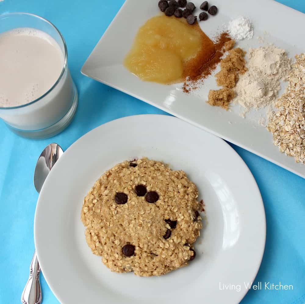 Microwave Oatmeal Cookie Is A Quick Easy Made In The It Only