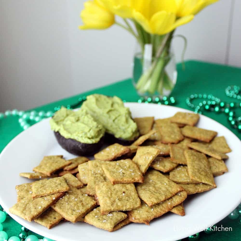 Spinach Wheat Thins
