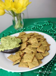 Crackers for St. Patrick's Day