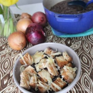 French Onion Soup from Living Well Kitchen