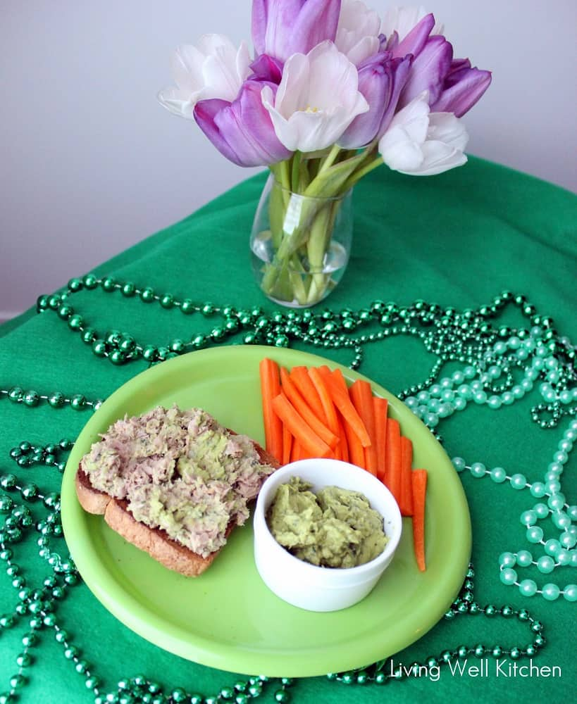 Spinach & Avocado Hummus from Living Well Kitchen5