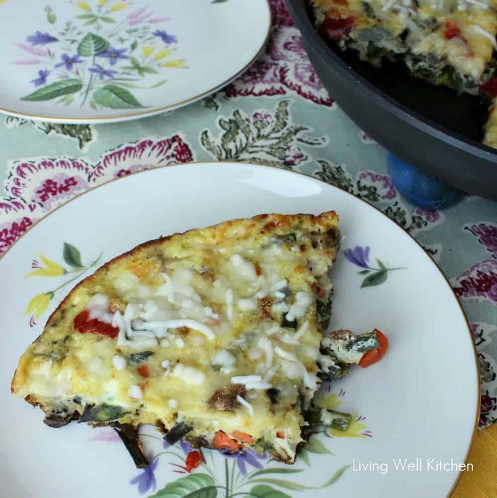 Veggie Frittata from Living Well Kitchen