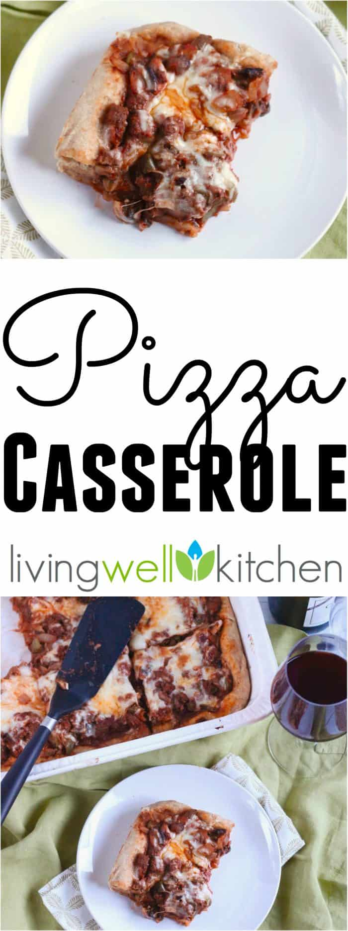 Pizza Casserole from @memeinge is perfect to get your family to eat more veggies. It's also really tasty!