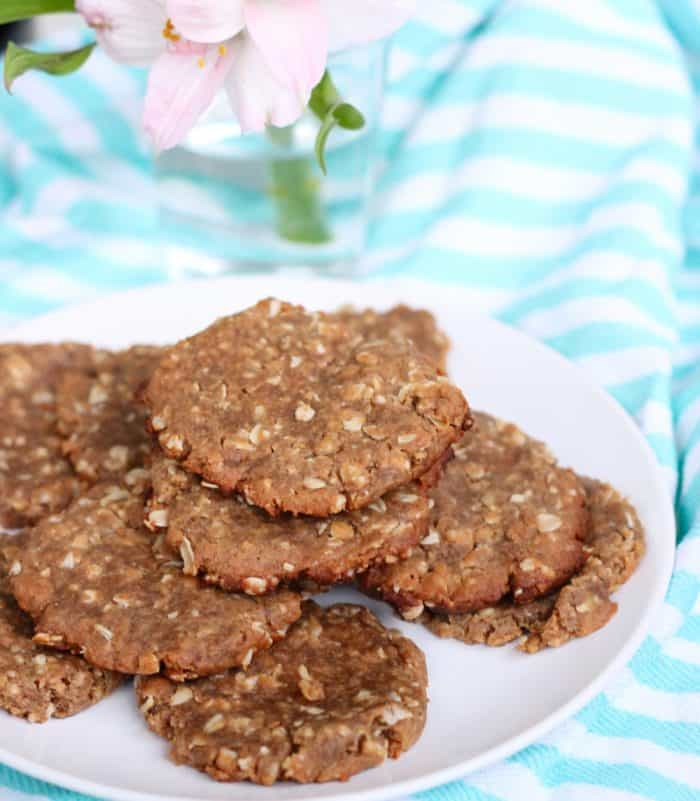 Peanut Butter Banana Cookies from Living Well Kitchen